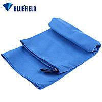 Туристическое полотенце BLUEFIELDиз микрофибры 70х35 см. Синий.