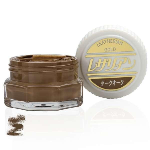 ✅ Оливково-коричневый увлажняющий крем для обуви класса люкс Columbus Leatherian Gold, 40 мл