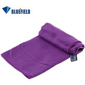 Туристическое полотенце BLUEFIELDиз микрофибры 70х35 см. Фиолетовый.