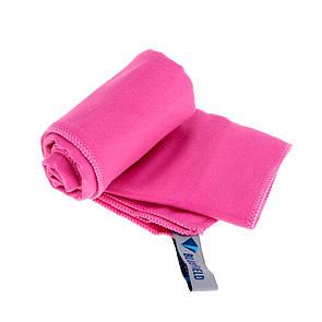 Туристическое полотенце BLUEFIELDиз микрофибры 70х35 см. Розовый.