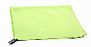 Туристическое полотенце BLUEFIELDиз микрофибры 70х35 см. Зеленый.
