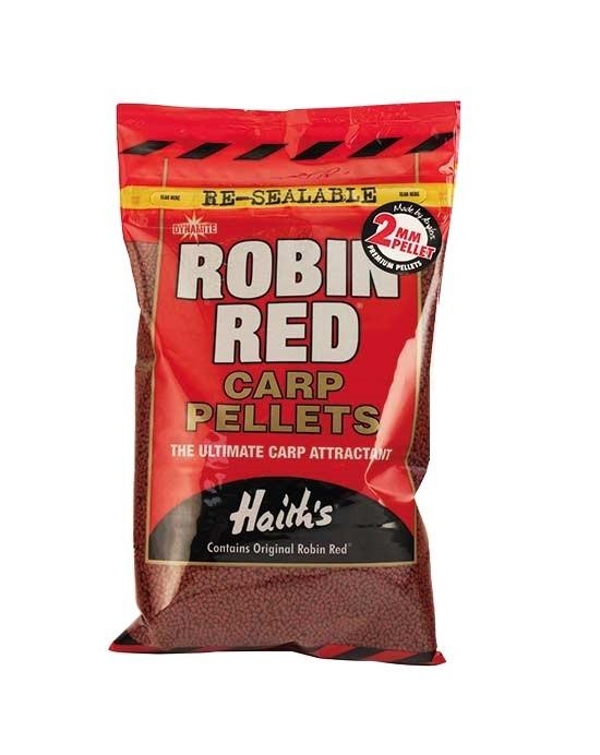 Пеллетс прикормочный Dynamite Baits Robin Red Carp Pellets 2 мм 900 гр
