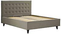 Кровать Николь Vip Вуд ткань Мелва, ножки Венге, 140х200 (Richman ТМ)