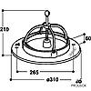 Вид кормушки-миски для поросенка SUEVIA модель 240, фото 2