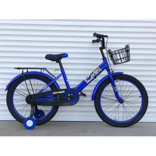 """Велосипед дитячий TopRider-09 16"""" двоколісний, синій"""