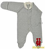 Человечек для новорожденного (футер), фото 1