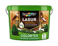 Лазурь для дерева Kompozit COLORTEX (0.9 л) Тик