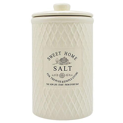 """Банка для соли """"Кантри"""" 1.1л 11*11*20.5см"""