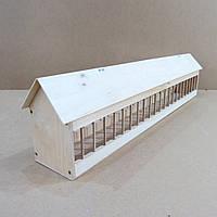 "Деревянная кормушка для голубей ""Агаран 100"" без отделки"