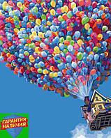 Картина по номерам Полет на воздушных шариках 40*50см BrushMe G396 Розмальовка