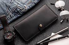 Портмоне клатч мужской Long Wallet MenStuff BLACK