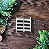 Окно со ставнями деревянное, фото 2
