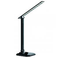 Настольная LED лампа LEDEX 9W ,черная ,4000К ,3 уровня яркости