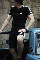 Футболка + шорты Аdidas .Мужской летний костюм Адидас. ТОП качество!!!Реплика, фото 1