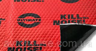 Шумоизоляция Авто U-POWER RED 2.3 мм 50х75 см Виброизоляция Обесшумка Шумка Виброшумоизоляция Автомобиля