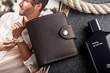 Мужской кожаный кошелек mod.Turtle brown