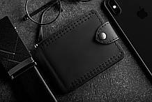 Зажим для купюр кожаный mod.Porter black