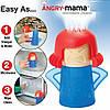 Очиститель микроволновки Angry Mama Top Trends пароочиститель, фото 3