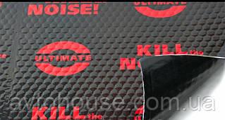Шумоизоляция Авто U-POWER BLACK 3.1 мм 50х75 см Виброизоляция Обесшумка Шумка Виброшумоизоляция Автомобиля