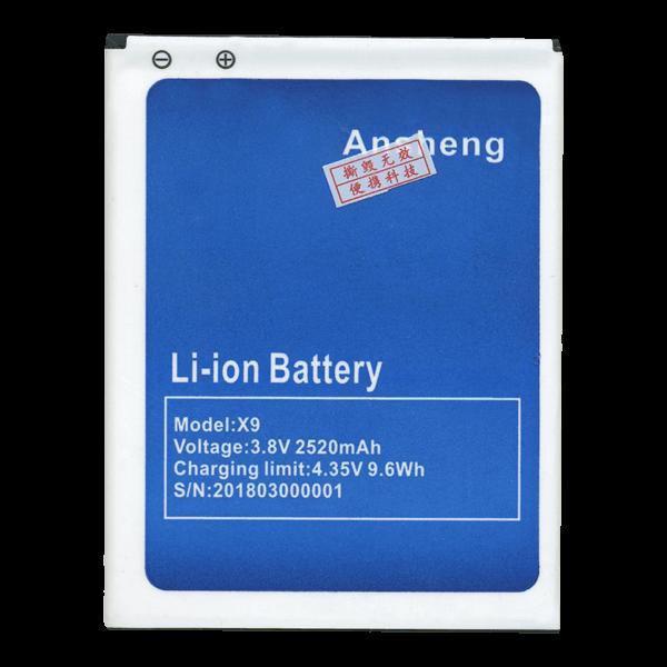 Батарея Bluboo X9 ECOO E05 2520 мА*ч