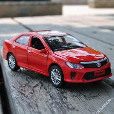 Машинка металлическая Toyota Camry (Top Model. Die Cast Collection), Metal Collection Красная