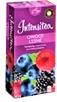 Чай Intensitia Ovoce Lesne 20 пакетов