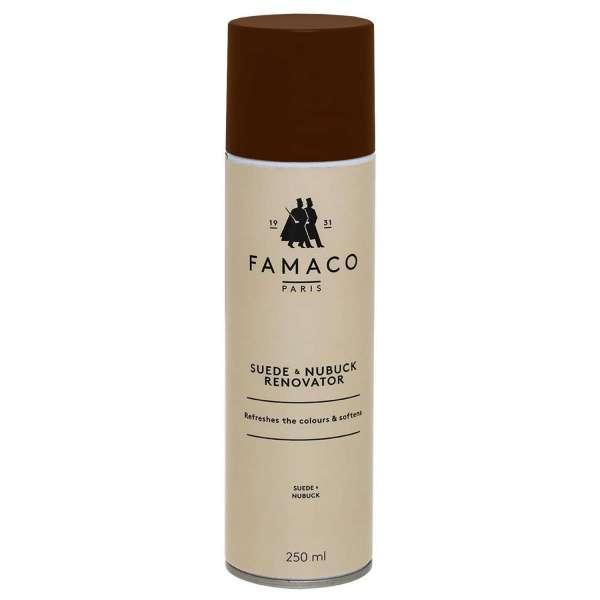 ✅ Светло-коричневый восстановитель цвета для замши и нубука Famaco Renovateur Daim, 250 мл
