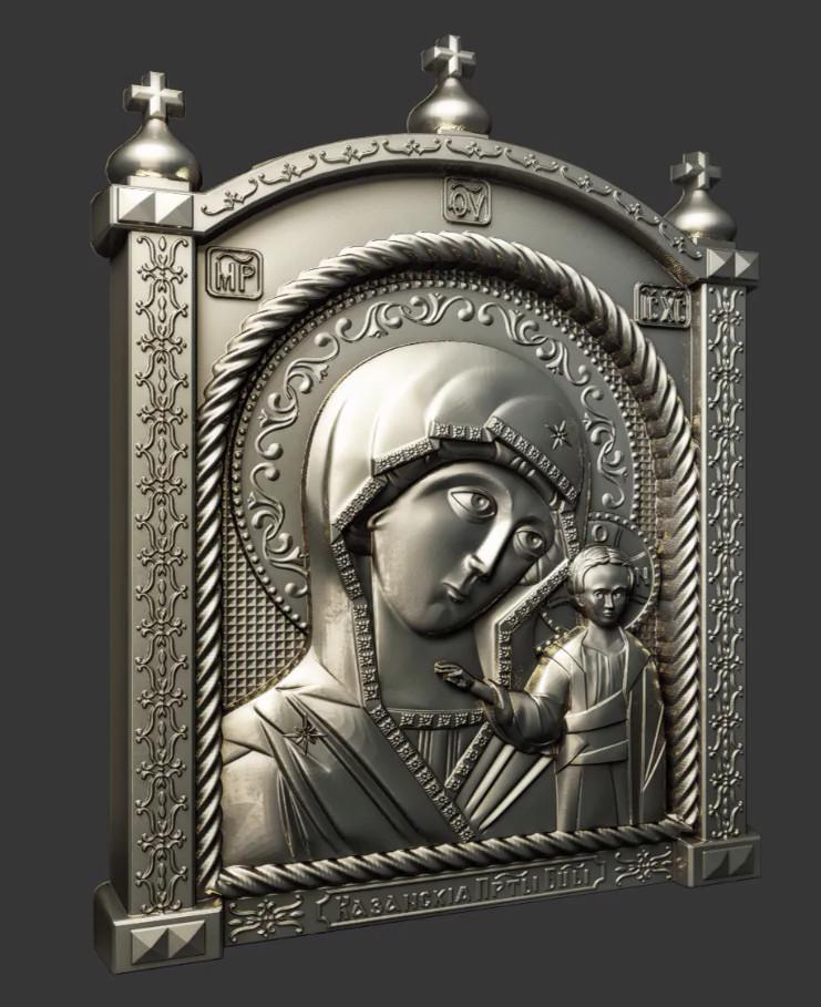 Ікона Казанская  Богородица