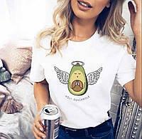 Жіноча стильна футболка Holy Guacamole, фото 1