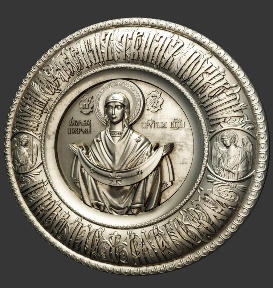 Ікона Покрова Пресвятой Богородицы