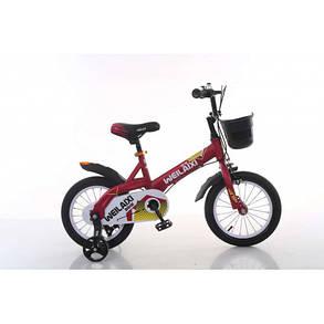 """Детский Двухколесный Велосипед TopRider 16 дюймов""""876"""" синий, фото 2"""