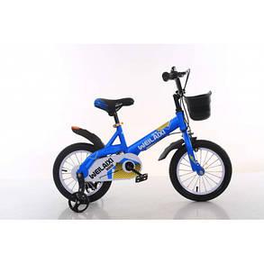 """Детский Двухколесный Велосипед TopRider 16 дюймов""""876"""" черный, фото 2"""