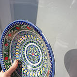 УЦЕНКА. Тарелка глубокая d ~22 cm ручной работы из Узбекистана, фото 6