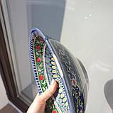 УЦЕНКА. Тарелка глубокая d ~22 cm ручной работы из Узбекистана, фото 5