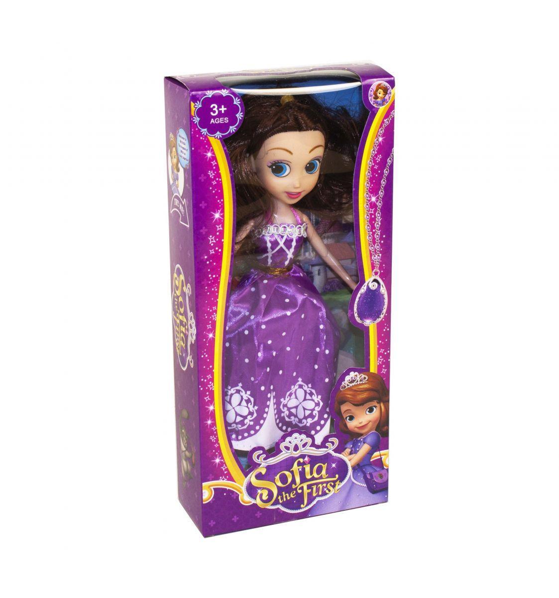 Кукла София Прекрасная в фиолетовом