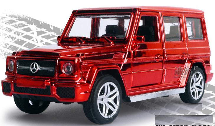 Машинка мерседес Гелендваген 1:32 Mercedes G-500 (красный)