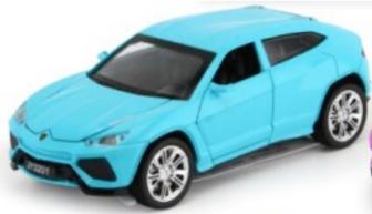 Машинка колекційна Lamborghini Urus Блакитний