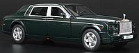 Машинка Rolls Royce Phantom (1:32) Темно зеленый, фото 1