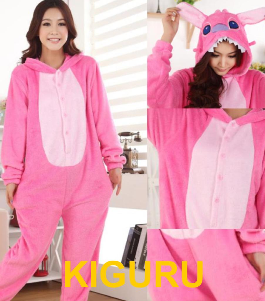 Кигуруми пижама розовый ститч