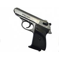 Пистолет Макарова стартовый серый матовый EKOL