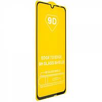 Защитное стекло TDG 9D для Honor 10i Full Glue черный 0,26 мм в упаковке