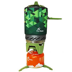 Комбинированная система для приготовления пищи Fire-Maple FMS-X2 Зеленый.