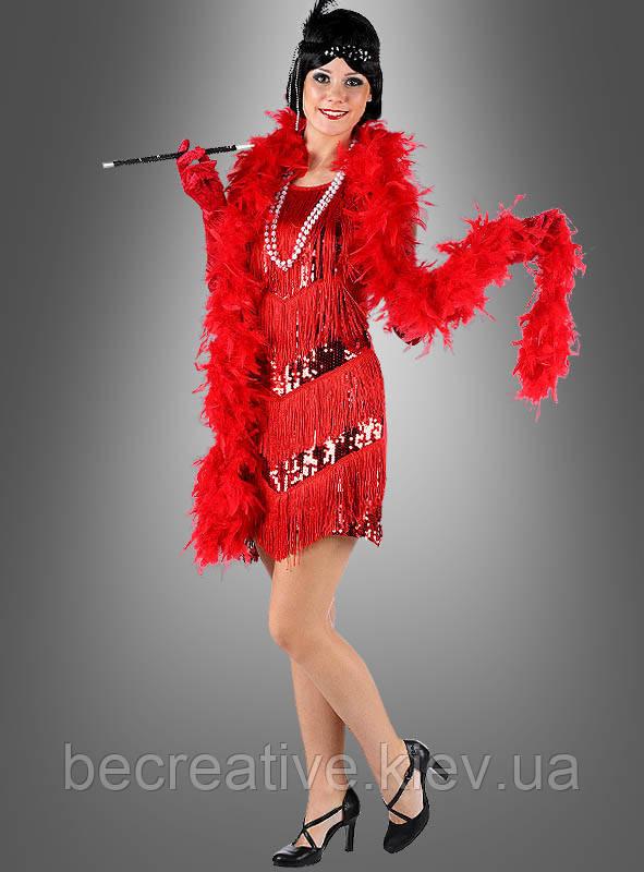 Красное платье Charleston для невесты мафии