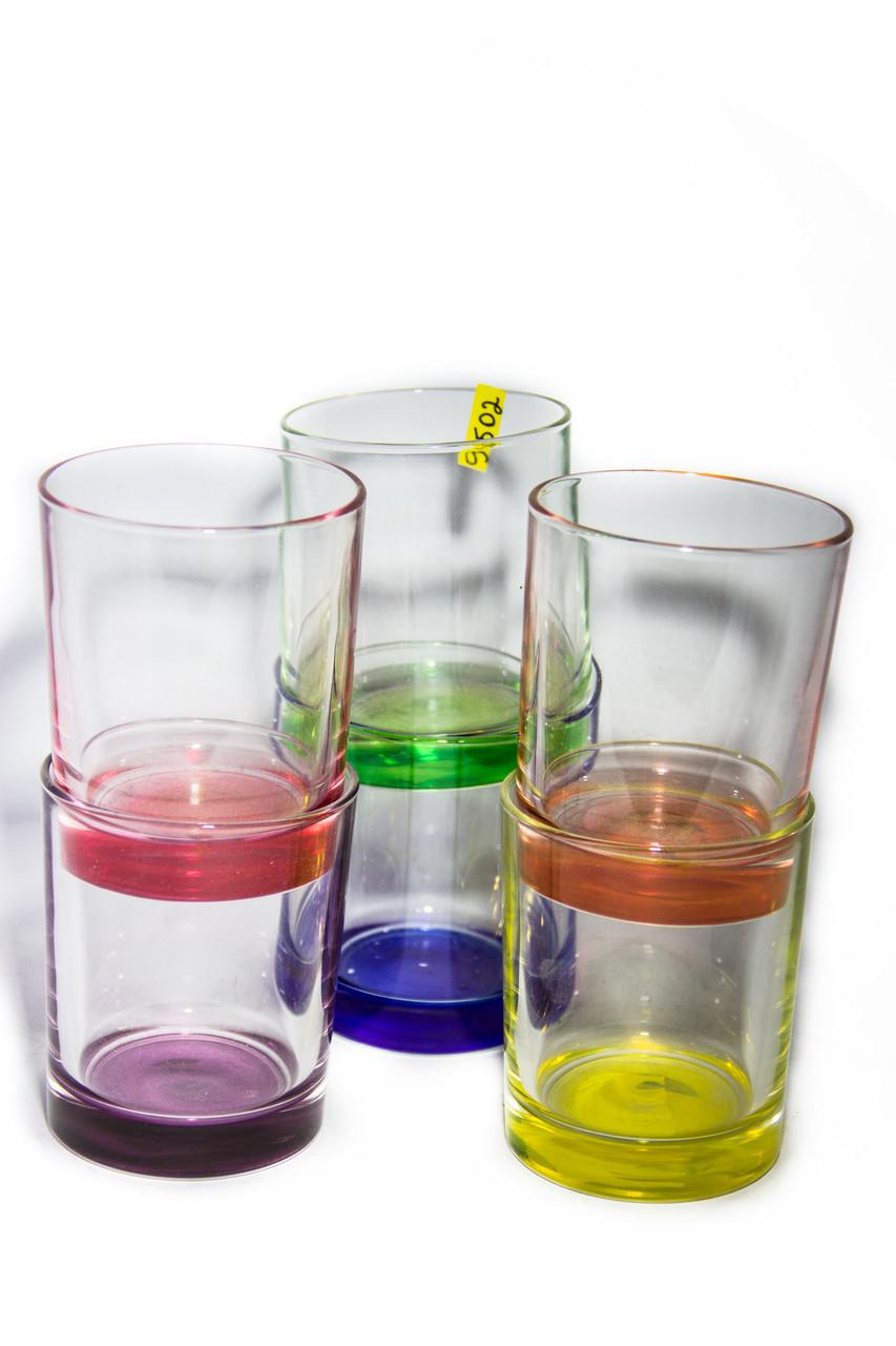 Склянки н-р 6шт 250гр Брайт Колорс-Нью Йорк низькі 8922Luminarc(4шт/уп)