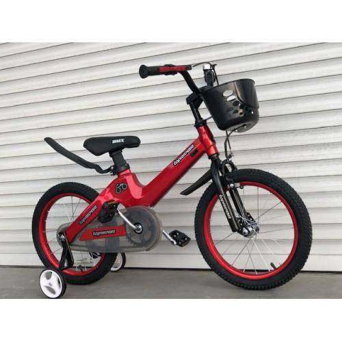 """Детский Магниевый Велосипед TopRider 16 дюймов """"TT001"""" красный"""