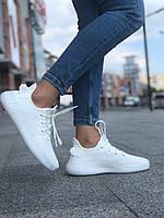 Женские кроссовки Adidas Yeezy Boost 350 V2 \ Адидас Изи Буст 350 Белые \ Жіночі кросівки Адідас Ізі Буст 350