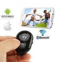 Bluetooth пульт (блютуз) для управления сьемкой, пульт для селфи Черный