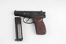 Пистолет пневматический SAS Makarov. Корпус - металл. / в магазине
