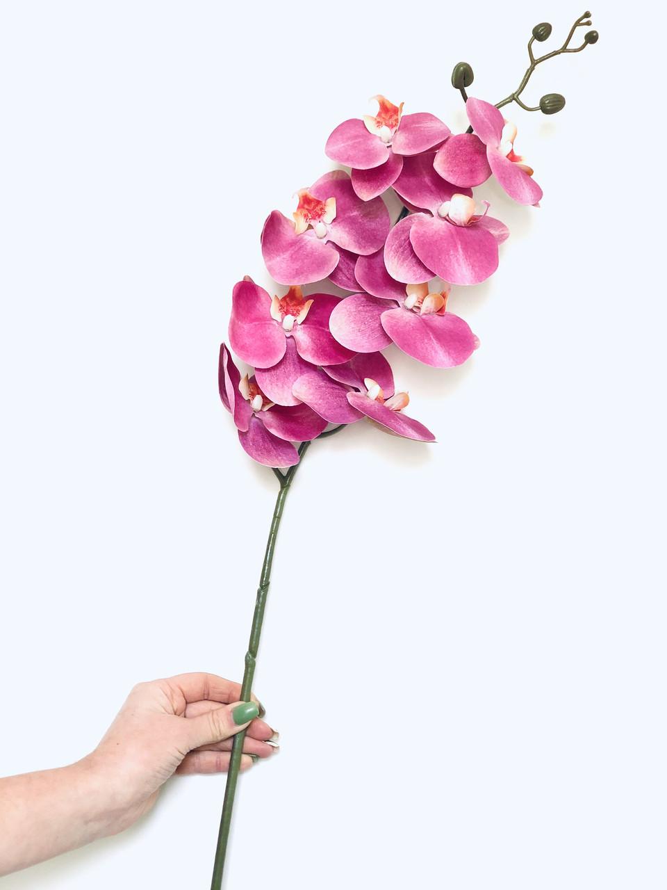 Искусственные орхидеи Real Touch фуксия