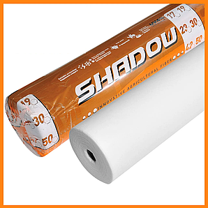 """Агроволокно   белое 23 г/м² 9.5 х 50 м. """"Shadow"""" (Чехия) 4% укрывной спанбонд"""